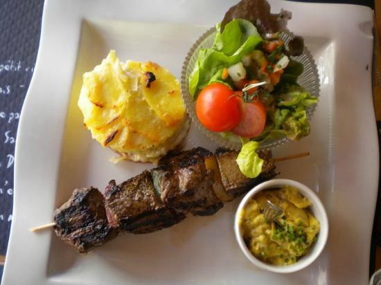 L'Estaminet : le menu