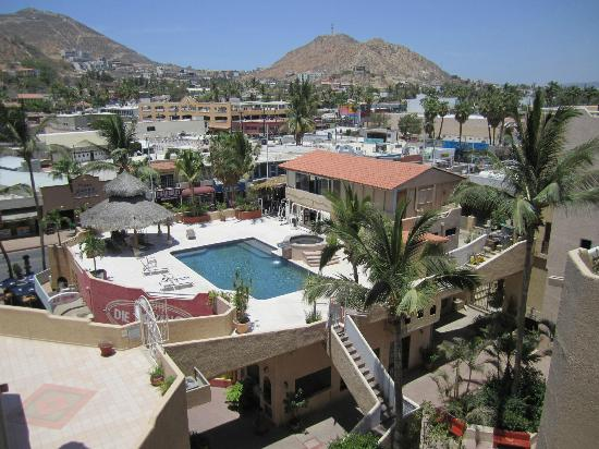 Plaza Nautica Condominiums: A view of Cabo just outside our condo
