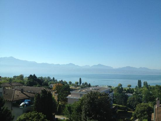 Bellerive Hotel : Splendid view on the Lake of Geneva!
