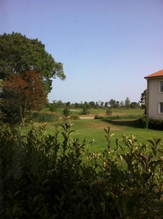 Relais de Margaux: vue de la chambre 115