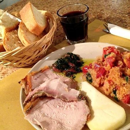 """Da Nello il Vinaio - Osteria Senese : il """"piatto del puzzone"""""""