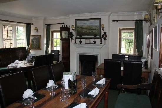 The Plough Inn at Ford: Dining Room
