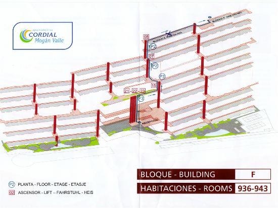 Apartamentos Cordial Mogan Valle Floor Plan