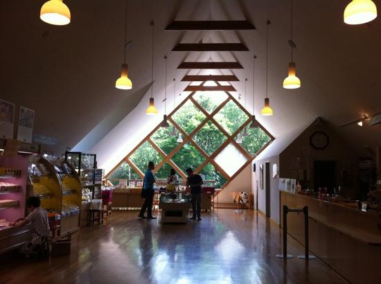 Furano Cheese Craft Center: the shopping area