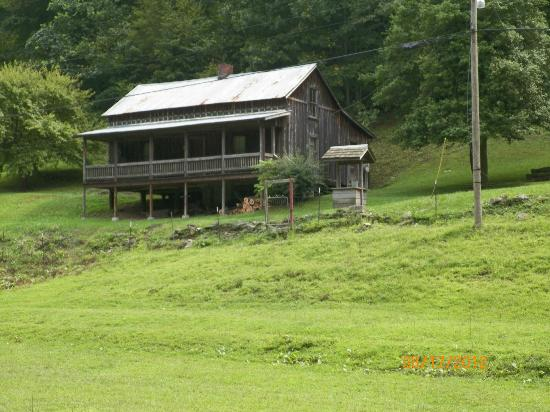 Paintsville, KY: Loretta Lynn's house from across the creek.