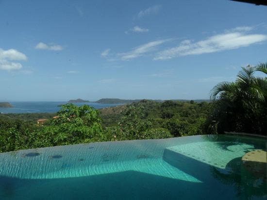 Villa Durazno: Our favourite view - from the Sun Terrace