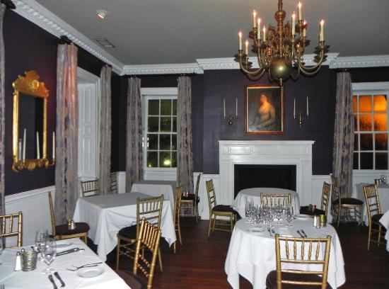 Olde Pink House Restaurant This Was My Friend S Favorite Room The Purple