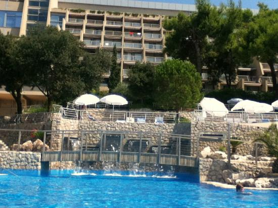 The Pool Picture Of Hotel Dubrovnik Palace Dubrovnik Tripadvisor