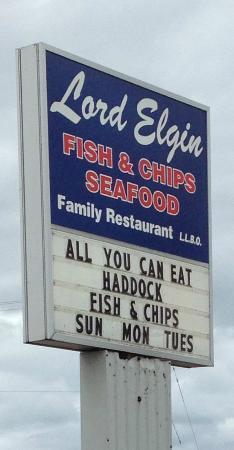 """Lord Elgin Fish & Chips: """"Lord Elgin Restaurant"""""""