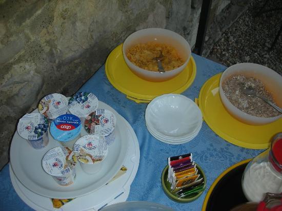 Podere Cogno: breakfast