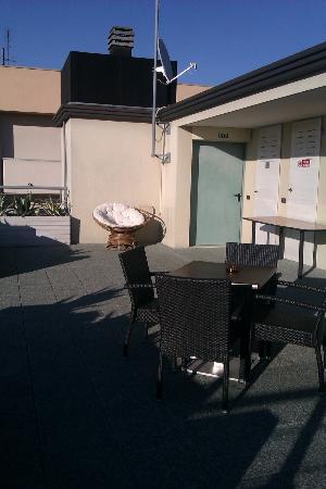 Hotel Thea : Terrazzo
