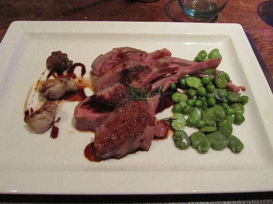The Stagg Inn : Lamb