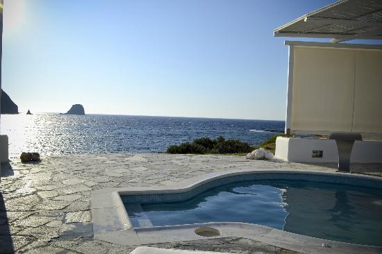 Melian Boutique Hotel & Spa: View from pool
