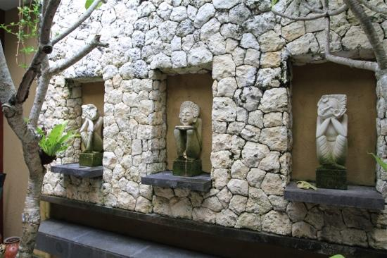 Ubud Green: the serene enclosure which also included a private jacuzzi