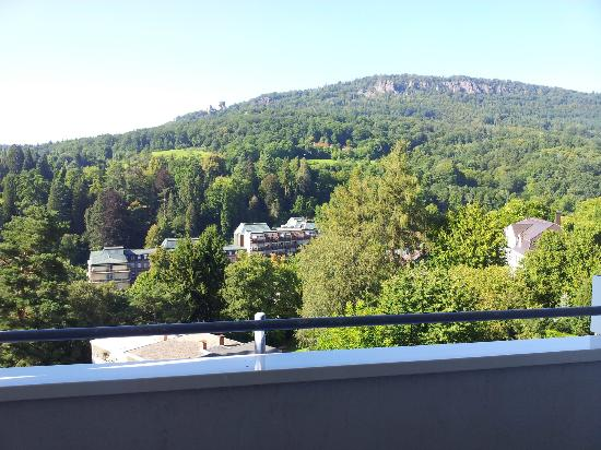 Magnetberg Hotel: From our balcony