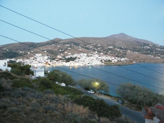 Villa Alexandros: vista dalla camera
