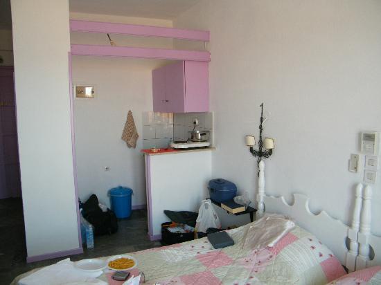 Villa Alexandros: angolo cottura
