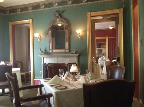Summit Restaurant: one of the dining rooms at Summit
