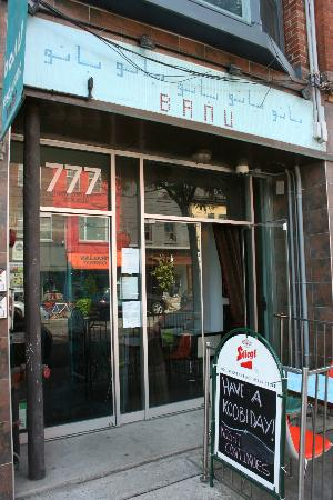 Photo of Middle Eastern Restaurant Banu at 777 Queen Street West, Toronto M6J 1G1, Canada