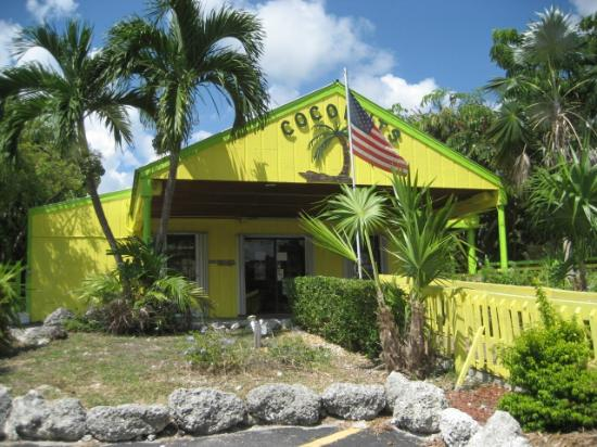"""Coconuts Bar & Liquor Store: the """"NUT"""" rocking you right at the light for 30 years. Stop in and cool off."""