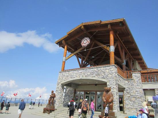 Funicular Peak 2 Peak: Punto de llegada eal Pico Whistley
