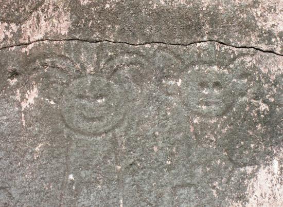 Parc des Roches Gravees: Parc Archeologique des Roches Gravees - Rock 4