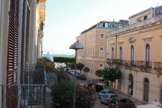Gran Bretagna Hotel: vue extérieure du balcon