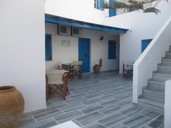 Hotel Poseidon : terrazas