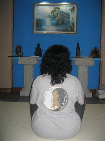 Lake Villa Guatemala: One of many meditation areas
