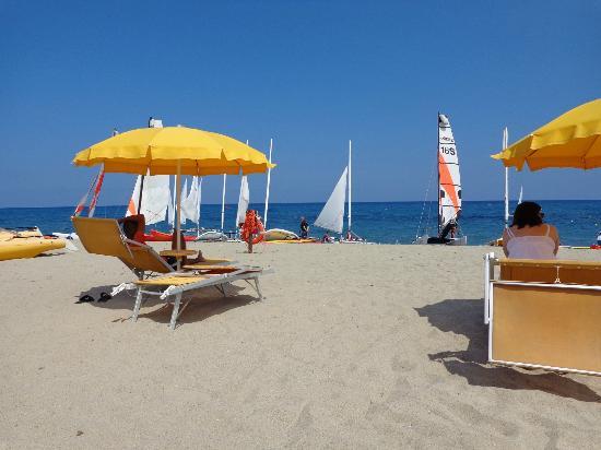 Cardedu, Italia: Beach front