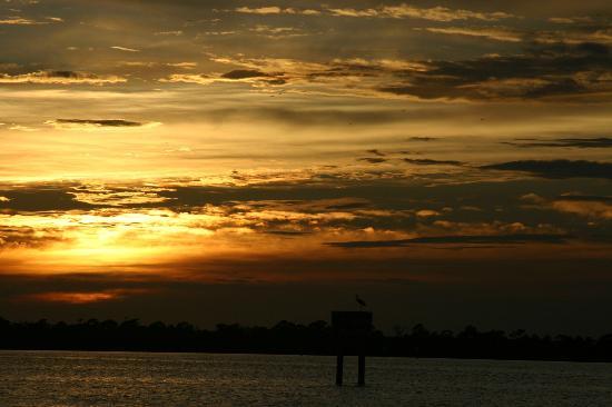 Space Coast River Tours: Sunset on Space Coast Tour Banana River Lagoon