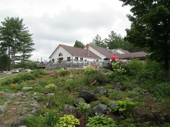 Crab Apple Whitewater: The main lodge is just off US Route 201 on Lake Moxie Road.