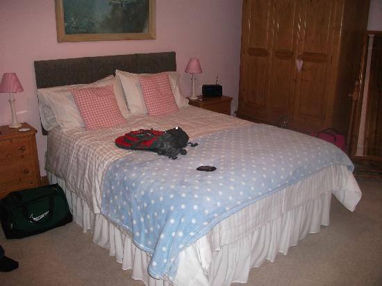 Fairshaw Rigg: King double bedroom with en-suite 