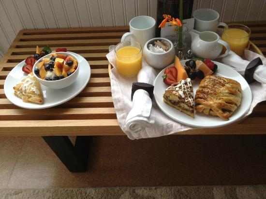 Ocean Point Inn & Spa: Breakfast Fresh Made