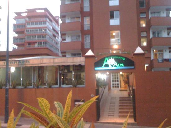 Apartamentos Alta : bild från gatan