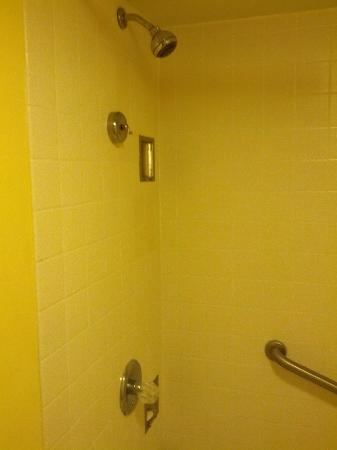 Quality Inn & Suites Oceanfront: Shower