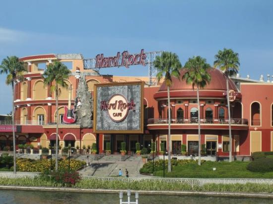 Welcome to the largest Hard Rock Cafe on the Planet