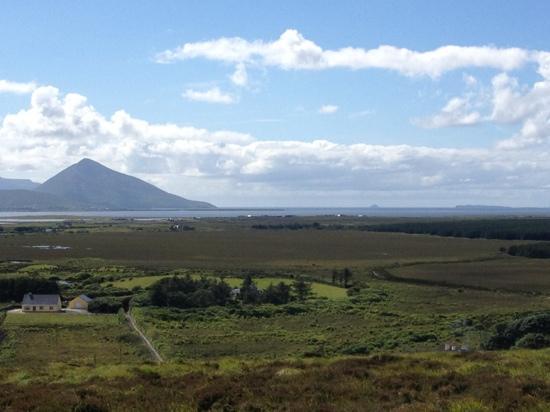 Ballycroy National Park: view from summet
