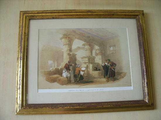 Union Hotel: paintings in the dining area