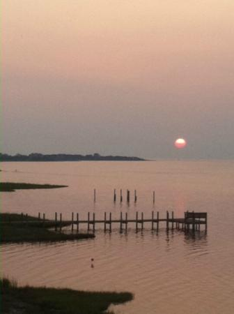 The Inn on Pamlico Sound: View from Jasmine patio