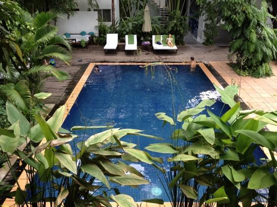 Villa Langka: piscine