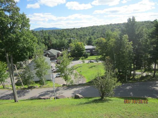 Quality Inn Lake Placid: view from balcony
