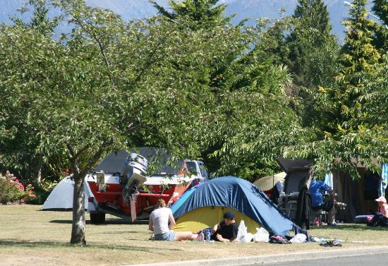 Te Anau Kiwi Holiday Park: Camping Sites