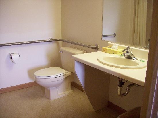 Value Host Motor Inn: bathroom