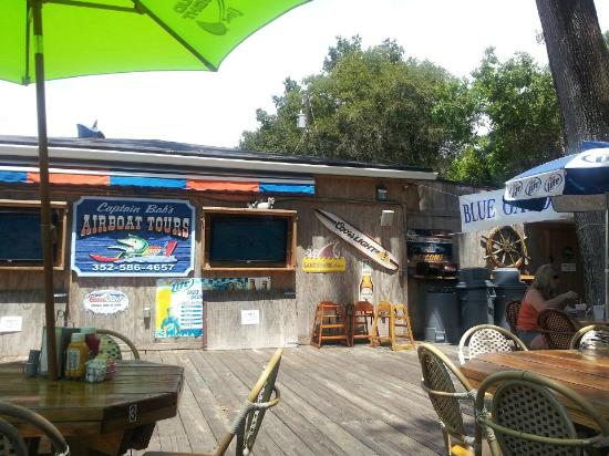Blue Gator Tiki Bar Amp Restaurant Dunnellon Menu Prices