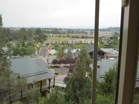 Hilton Garden Inn Bend: View from our 3rd floor river view room