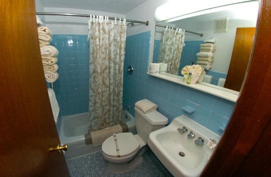 Le Voyageur Motel: salle bain