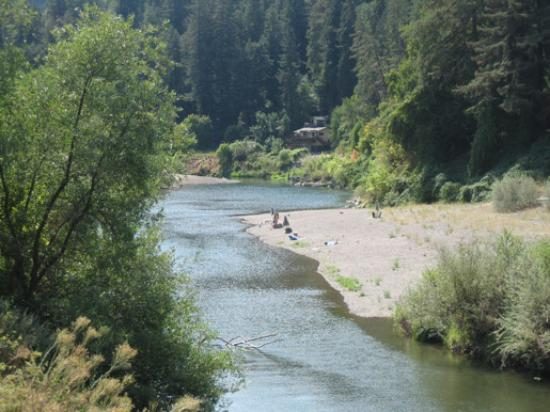Burke's Canoe Trips on the Russian River Foto