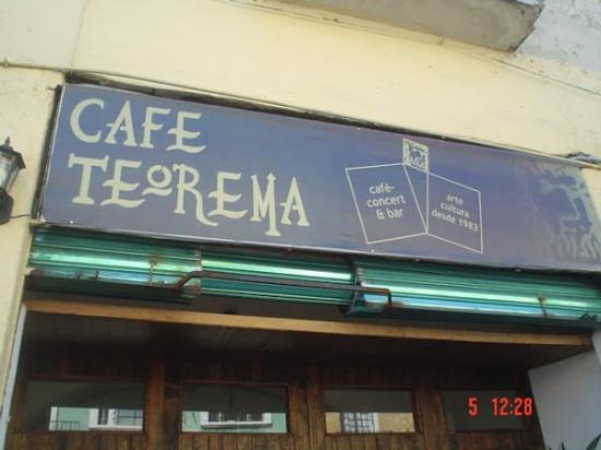 Anuncio del café teorema