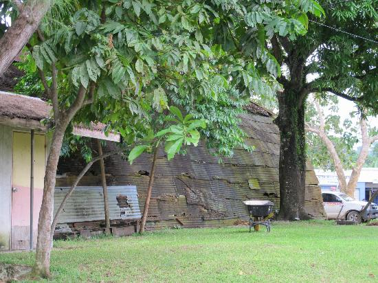 """Paradise Tours Santo: US WW11 """"igloo"""" at Luganville wharf last one intact at this site"""